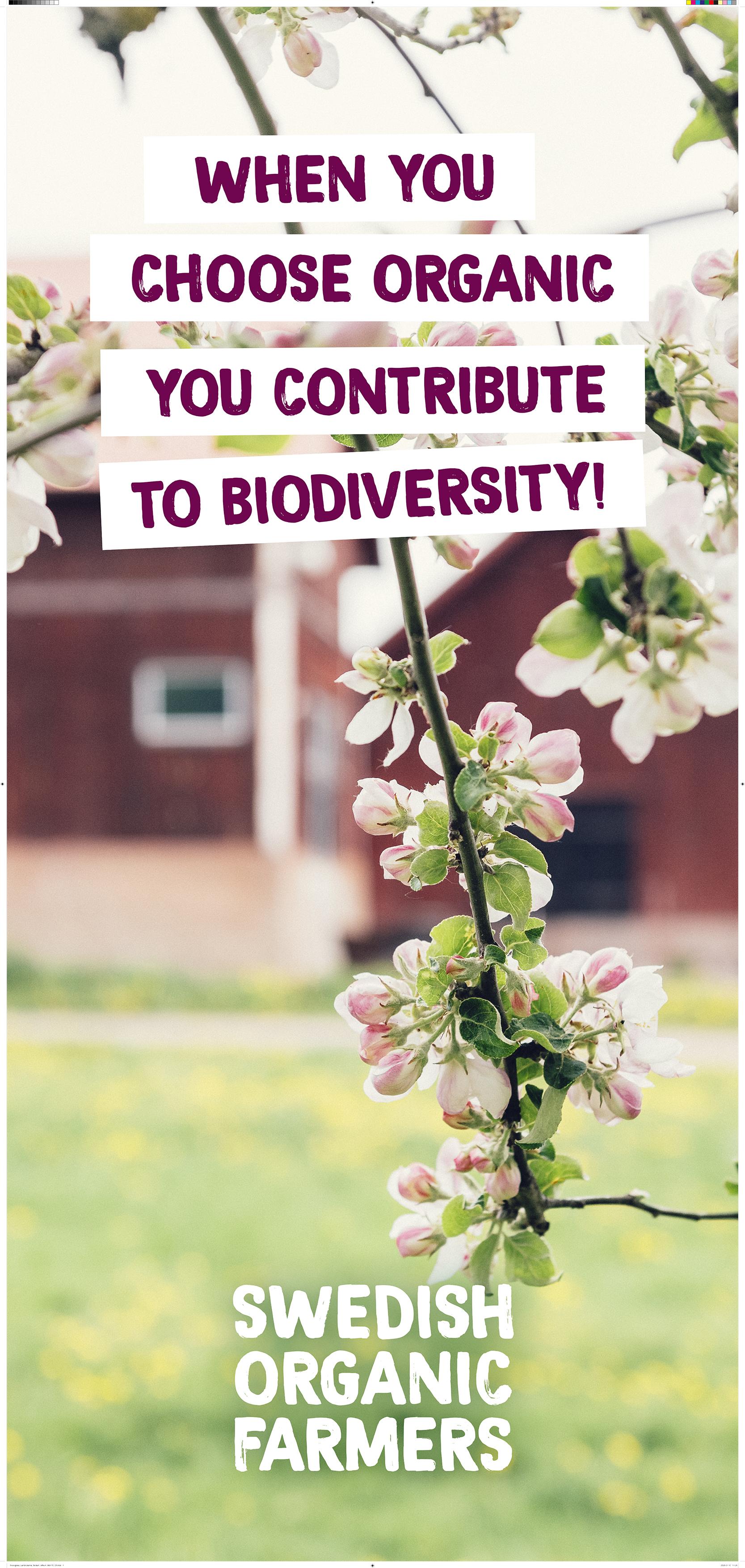 Swedish Organic Farmers auf der Bio-Fach in der Halle 6-112