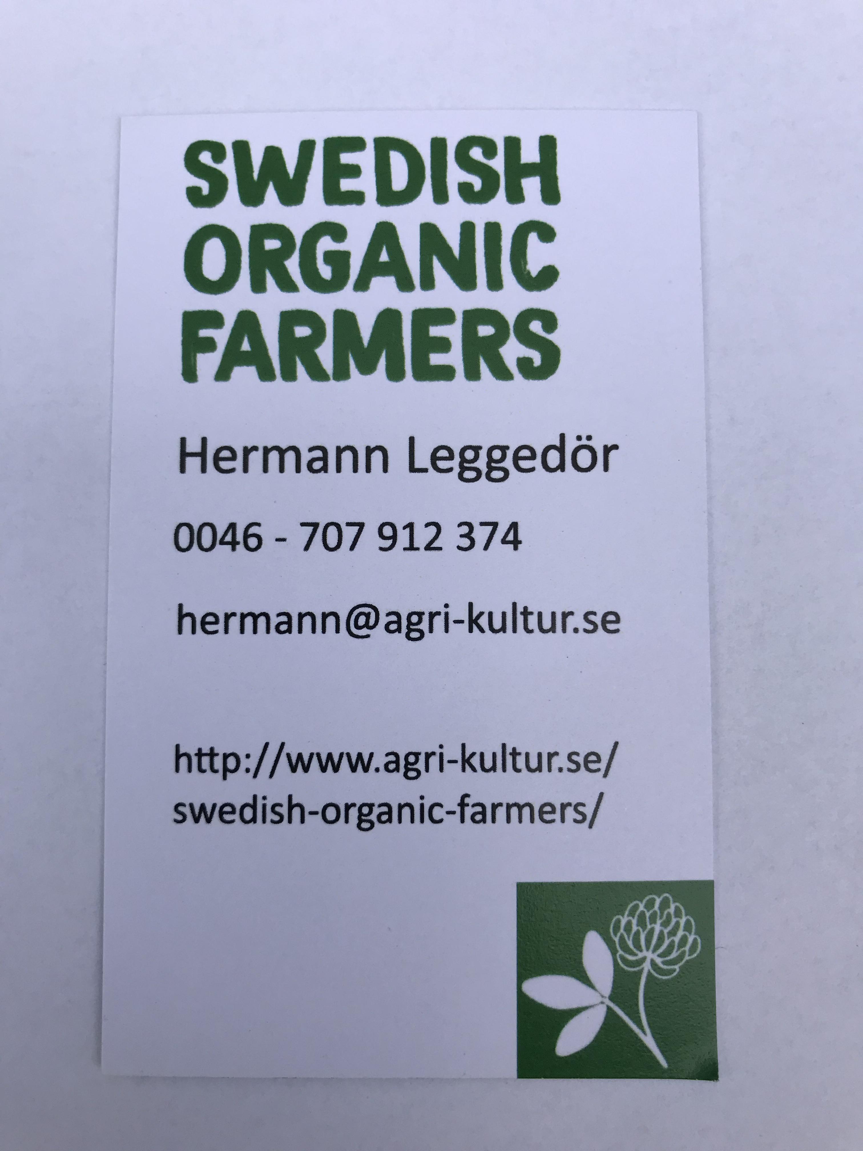 Swedish Organic farmers